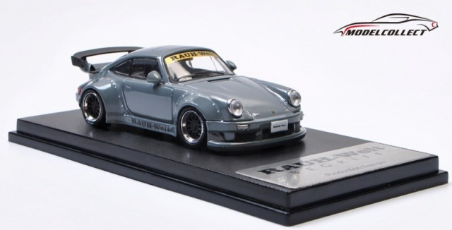 <予約 2021/1月発売予定> MODEL COLLECT 1/64 RWB 930 GT Wing Cement Grey ※Wheel Black 世界限定999台
