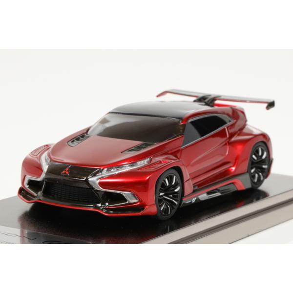 【モデラーズ】 1/43 Mitsubishi Concept XR-PHEV EVOLUTION Vision Gran Turismo RED