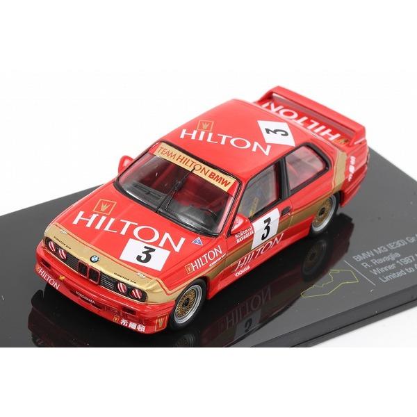 【イクソ】 1/43 BMWE30 M3 Gr.A Winner 1987 マカオ ギアレース No,3 ※限定499台