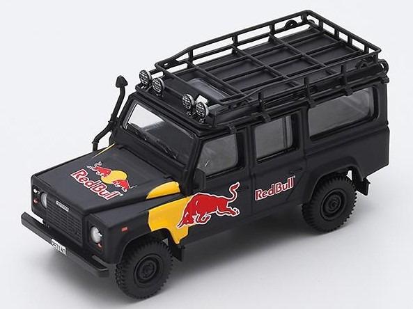 MINI GT 1/64 ランドローバー ディフェンダー Red Bull LUKA (左ハンドル)