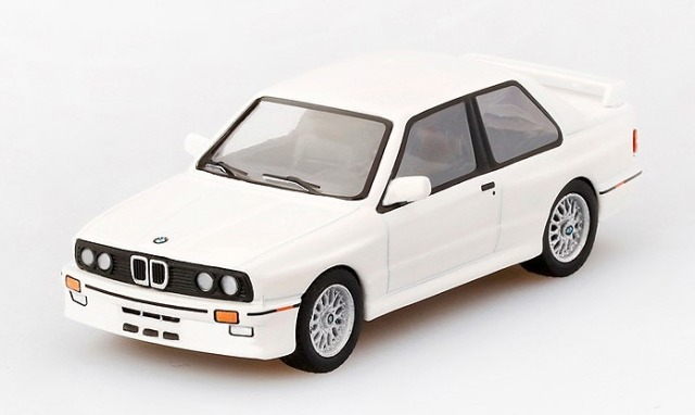 MINI GT 1/64 BMW M3 (E30) Alpine White