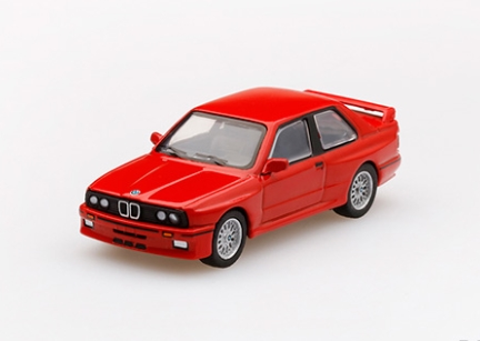 MINI GT 1/64 BMW M3(E30) ヘナレッド (左ハンドル)