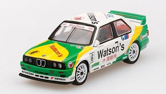MINI GT 1/64 BMW M3 E30 #6 1991 macau GP Winner *香港特注