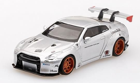 MINI GT 1/64 LB WORKS Nissan GT-R R35 Type 1,Rear Wing ver.1 Magic Pearl 台湾特注
