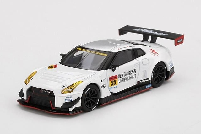 MINI GT 1/64 EVA RT TEST TYPE-01 XWORKS GT-R OKAYAMA TEST SUPER GT 2019