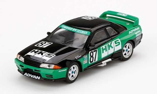 MINI GT 1/64 Nissan GT-R R32 Gr. A #87 HKS 1992 Group A