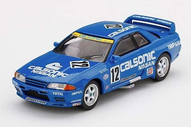 MINI GT 1/64 Nissan スカイライン GT-R R32 全日本ツーリングカー選手権 1993 Gr.A Calsonic #12(右ハンドル)