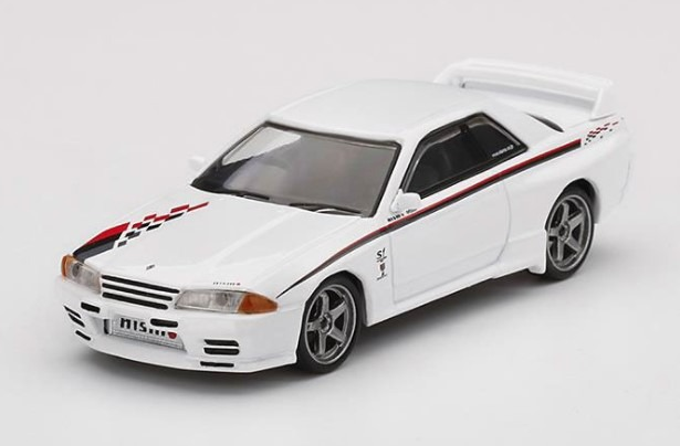 <予約> MINI GT 1/64 Nissan GT-R R32 Nismo S-Tune ホワイト (右ハンドル)  発売予定2020/10