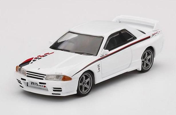MINI GT 1/64 Nissan GT-R R32 Nismo S-Tune ホワイト (右ハンドル)
