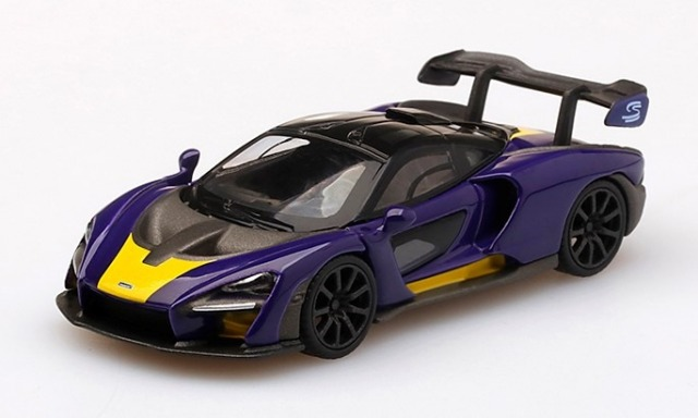MINI GT 1/64 McLaren Senna Purple/Yellow