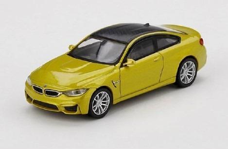 MINI GT 1/64 BMW M4 (F82) オースティンイエローメタリック(左ハンドル)