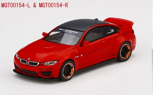 MINI GT 1/64 LB★WORKS BMW M4 レッド (LHD)