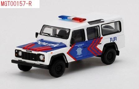 MINI GT 1/64 ランドローバー ディフェンダー 110 Korlantas インドネシア国家交通警察(右ハンドル) インドネシア限定
