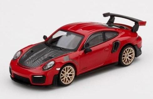 MINI GT 1/64 ポルシェ 911(991) GT2 RS レッド(左ハンドル)台湾限定