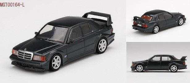 MINI GT 1/64 メルセデス ベンツ 190E 2.5-16 エボリューション II ブラック(左ハンドル)