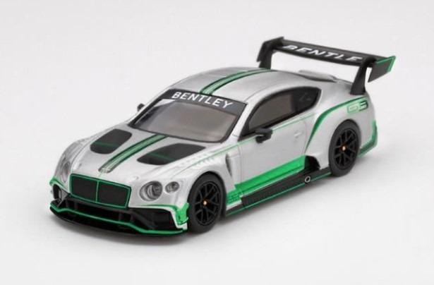MINI GT 1/64 ベントレー コンチネンタル GT3 プレゼンテーション (右ハンドル)