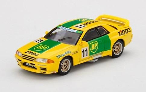 MINI GT 1/64 Nissan スカイライン GT-R R32 全日本ツーリングカー選手権1993 Gr.A BP #11(右ハンドル)