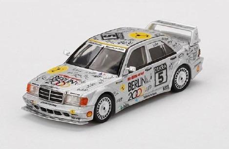 MINI GT 1/64 メルセデス ベンツ 190E 2.5-16 エボリューション II DTM 1992 #5 Berlin
