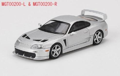 MINI GT 1/64 Toyota TRD 3000GT アルパインシルバーメタリック(右ハンドル)