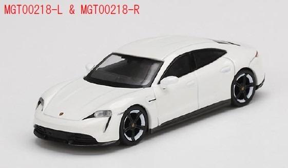 MINI GT 1/64 ポルシェ タイカン ターボ S ホワイト(左ハンドル)