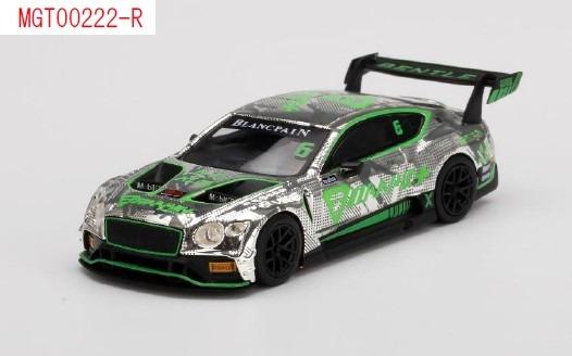 MINI GT 1/64 ベントレー コンチネンタル GT3 ブランパンGTシリーズ・アジア 2018 #6 フェニックス・レーシング・アジア