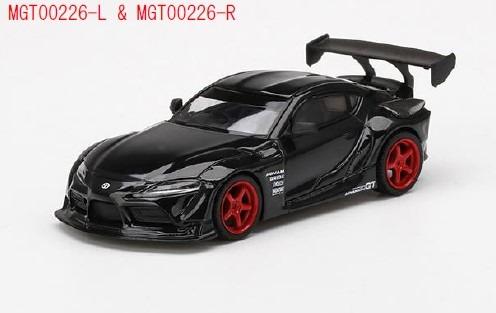 MINI GT 1/64 HKS GR スープラ Nocturnal(ブラック)(右ハンドル)