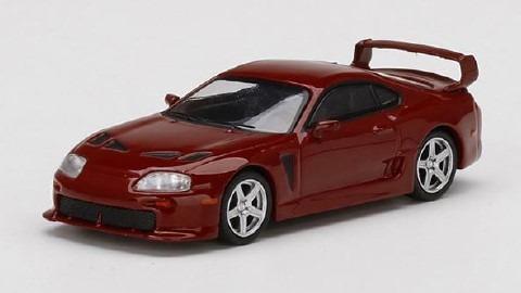 MINI GT 1/64 Toyota TRD 3000GT ルネサンスレッド(右ハンドル)