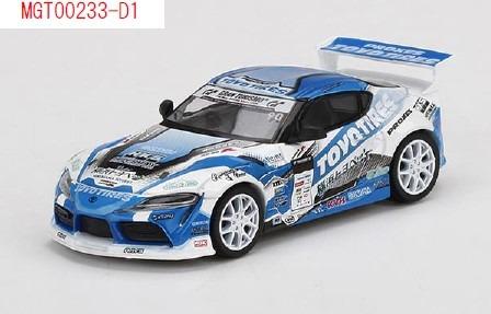 MINI GT 1/64 Pandem GR スープラ V1.0 Team TOYO TIRES DRIFT D1 GP(右ハンドル)日本限定