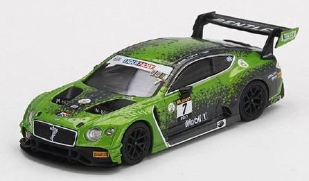 MINI GT 1/64 ベントレー コンチネンタル GT3 リッキー-モリーバサースト 12時間 2020 優勝車 #7