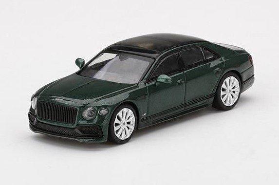 <予約 2022/2月発売予定> MINI GT 1/64 ベントレー フライングスパー Verdant(右ハンドル)