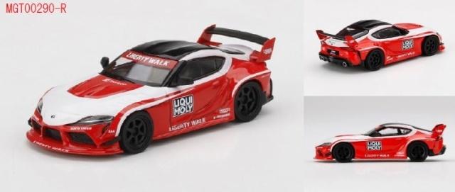 <予約 2021/12月発売予定> MINI GT 1/64 LB★WORKS GR スープラ リキモリ(右ハンドル)