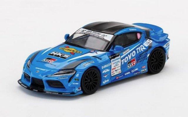 <予約 2022/2月発売予定> MINI GT 1/64 HKS GR スープラ D1 GP 2020 #77 H.Matsuyama FAT FIVE RACING (右ハンドル)日本限定