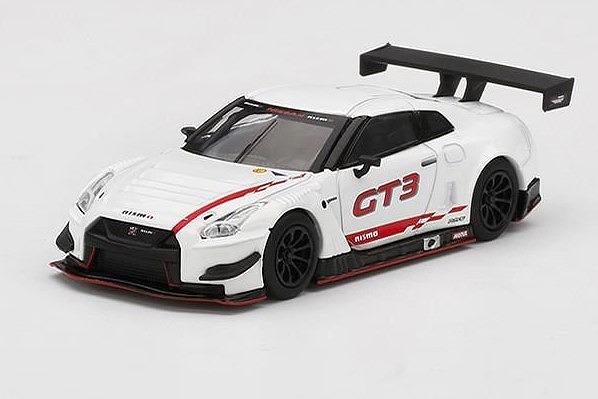 <予約 2022/2月発売予定> MINI GT 1/64 Nissan GT-R Nismo GT3 2018 プレゼンテーション(左ハンドル)