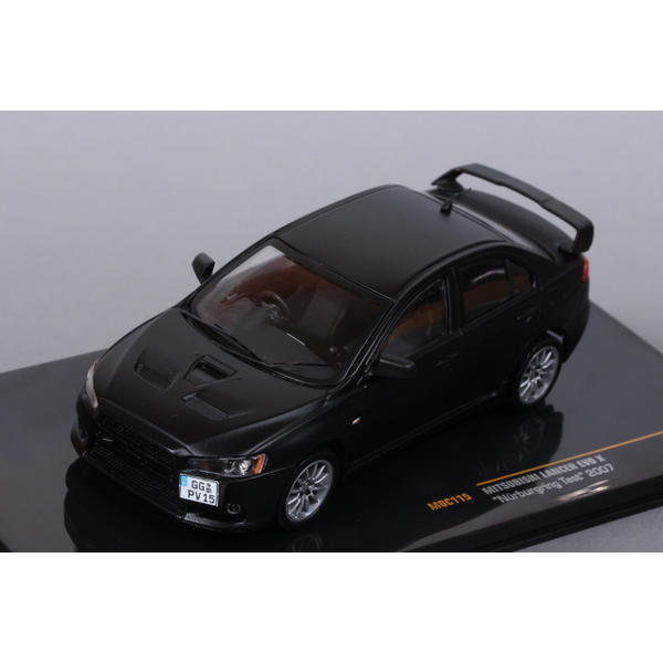 【ixo】 1/43 三菱 ランサー EVO X ニュルブルクリンク テスト2007