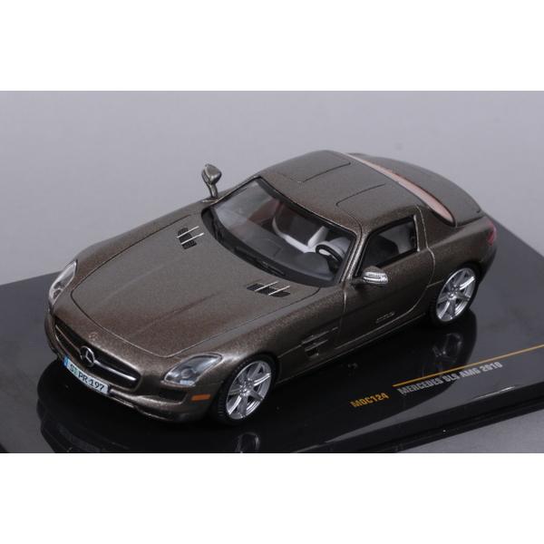【ixo】 1/43 メルセデス SLS AMG 2010 (グレー)