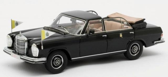 MATRIX 1/43 メルセデスベンツ 300SEL ランドーレット バチカン市国 ローマ教皇専用車 オープン 1967