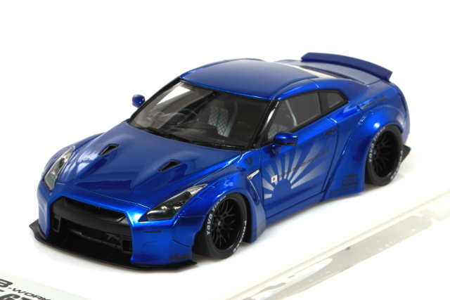 EIDOLON 1/43 Liberty Walk LB WORKS GT-R Duck tail Version Candy Blue Limited Edition 宮沢模型限定