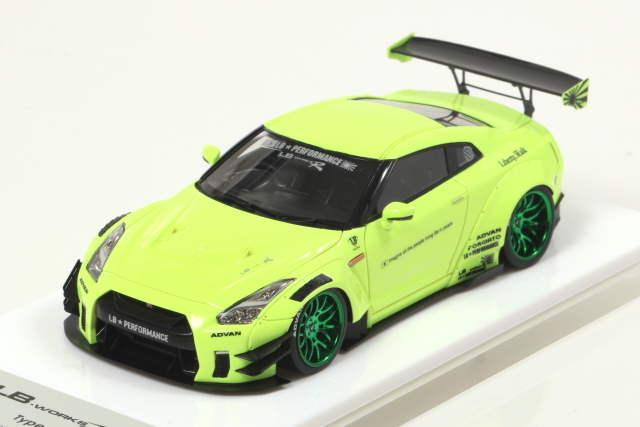 EIDOLON 1/43 LB WORKS GT-R Type.2 Light Yellow Limited Edition 宮沢模型限定