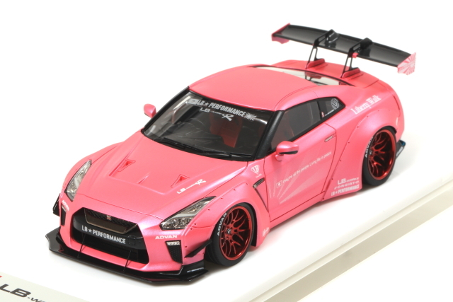 EIDOLON 1/43 LB WORKS GT-R Type.1.5 Matt Pink Limited Edition 宮沢模型限定