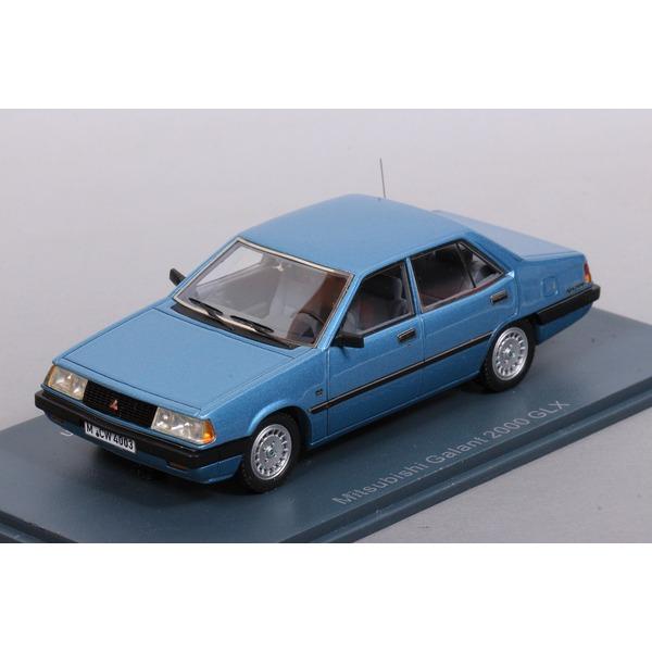 【NEO】 1/43 三菱 ギャラン 2000 GLX (メタリックブルー)  ※限定300台