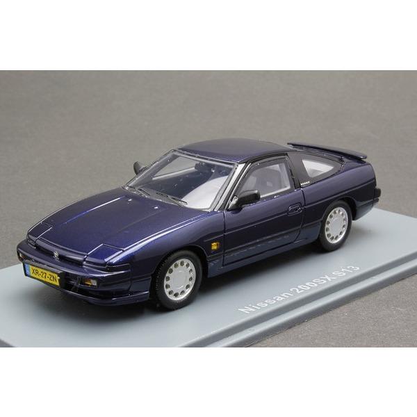 1/43  日産 200SX S13 (ブルー)