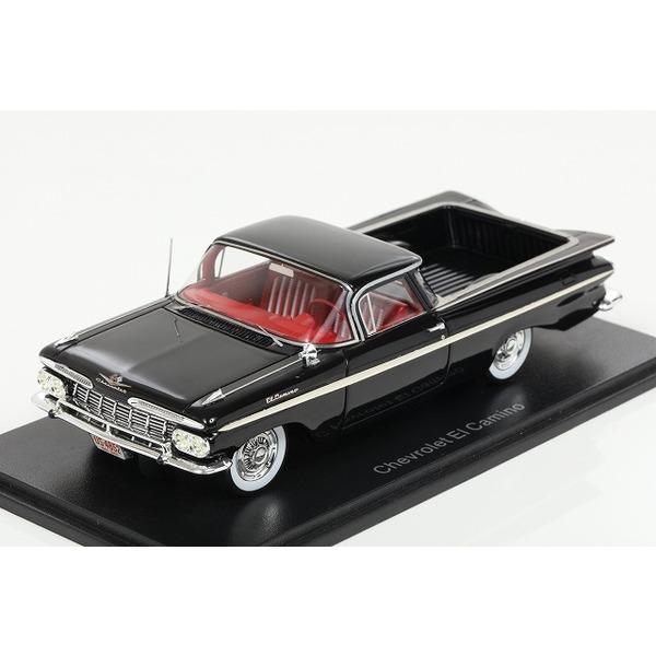 【NEO】 1/43 シボレー エルカミーノ 1959 ブラック