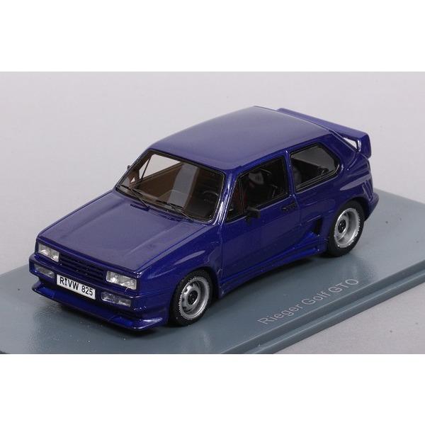 【NEO】 1/43 Rieger ゴルフ GTO (ブルー)