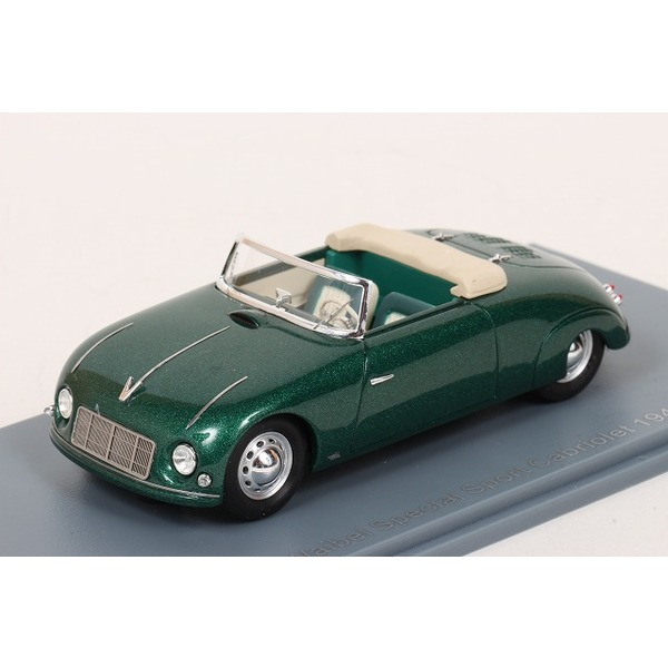 【NEO】 1/43 Waibel Special Sport Cabriolet 1948 (Green)