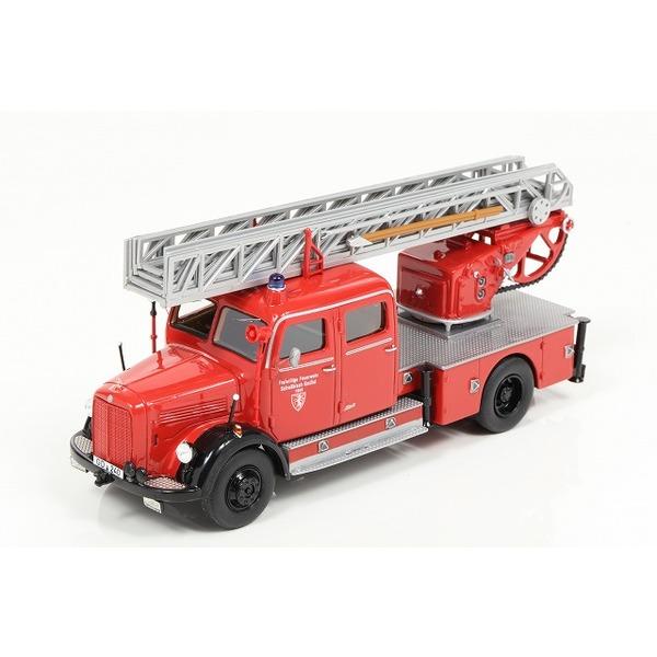 【NEO】 1/43 メルセデス ベンツ LF 3500 U125 消防はしご車 1959