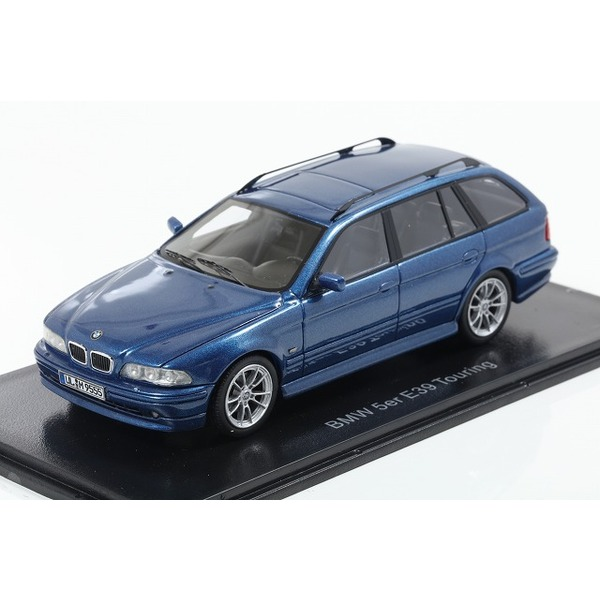 【NEO】 1/43 BMW 520 Touring (E39) 2002 メタリックブルー