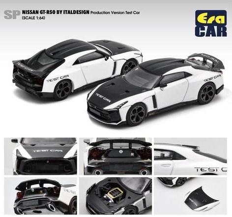 EraCAR 1/64 Nissan GT-R50 By Italdesign - Production Version Test Car