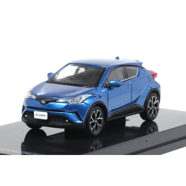 【オーバーステア】 1/64 Toyota CH-R 2017 ブルーメタリック