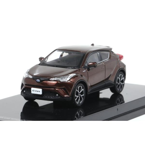 【オーバーステア】 1/64 Toyota CH-R 2017 ダークブラウンマイカメタリック