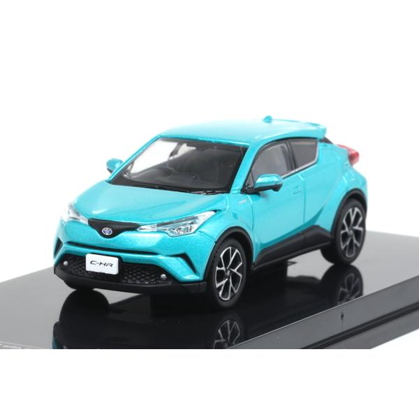 【オーバーステア】 1/64 Toyota CH-R 2017 ラディアントグリーンメタリック